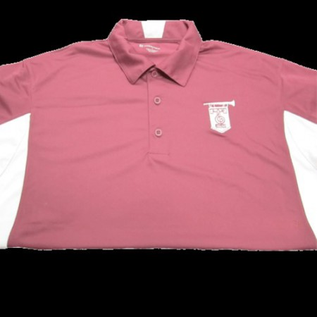 Aggie Band Blocked Polo
